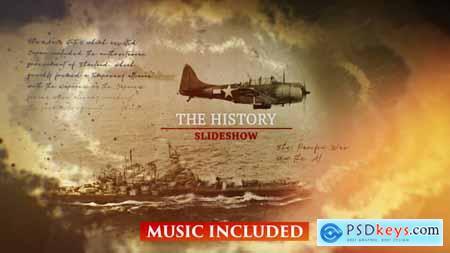 Videohive The History Slideshow 23471196
