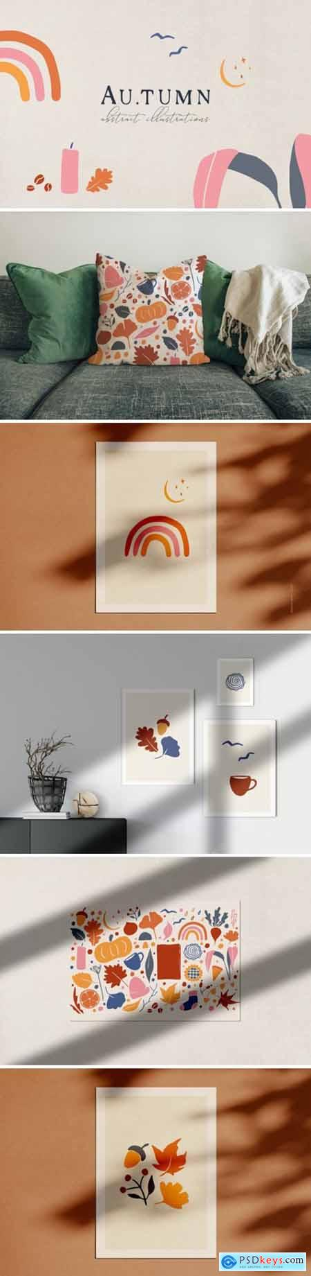 Abstract Autumn Illustrations 1985099