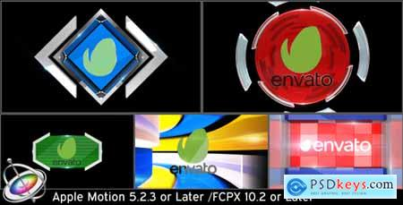 Videohive Broadcast Logo Transition Pack V3 Apple Motion 15693654