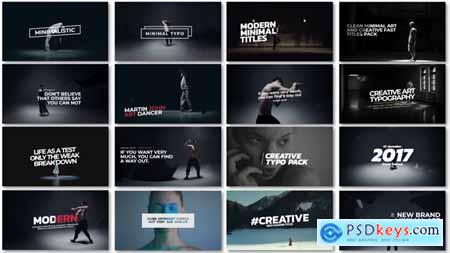 Videohive Minimal Art Titles 21488099