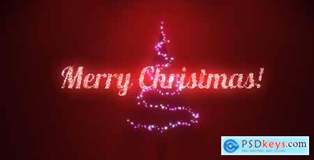 Videohive Music Lights on Tree Christmas Greetings 13758602