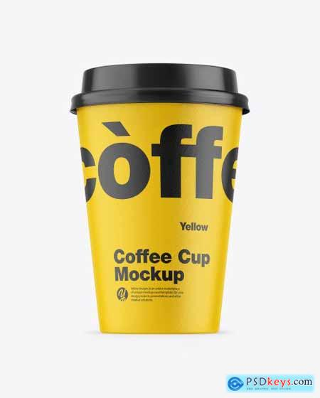 Paper Coffee Cup Mockup 51014