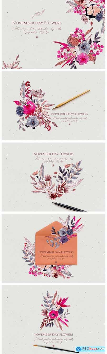 November Day Flowers 1993034