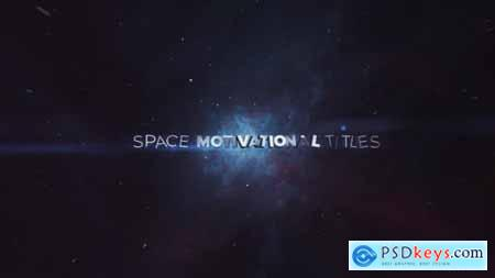 Videohive Space Motivational Titles 16613562
