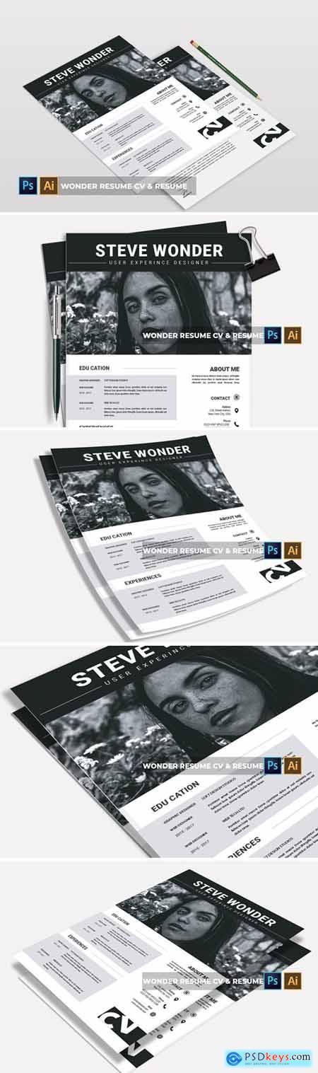 Wonder Resume - CV & Resume