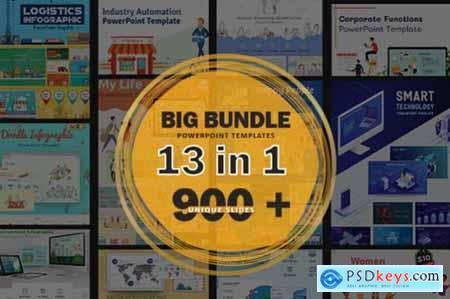 Big Bundle PowerPoint Template 1997299