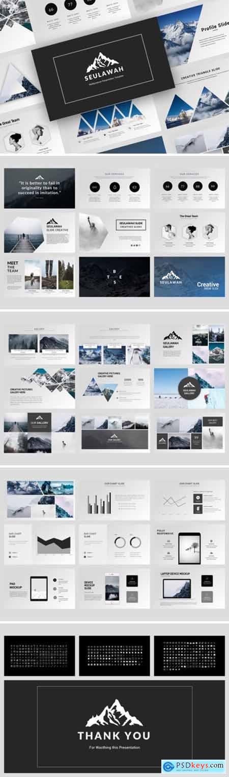 Seulawah Creative Powerpoint, Keynote and Google Slides Templates