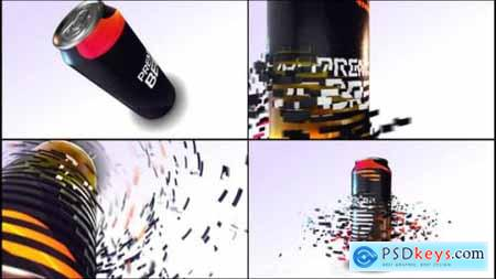 Videohive E3d Beer Can Commercial 24662603