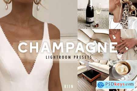 5 CHAMPAGNE LIGHTROOM PRESETS 4237079