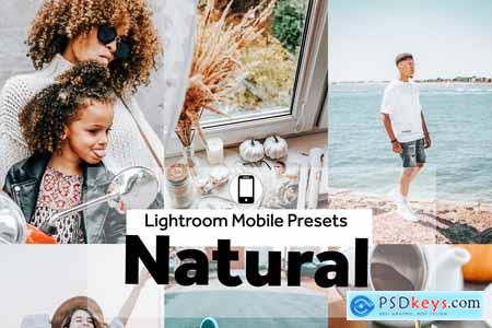 5 Mobile Presets Natural 4190509