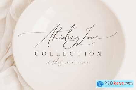 Abiding Love Collection Font Duo 3838570