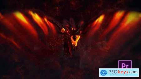 Videohive Fire Dragon Title Premiere Pro 25020722