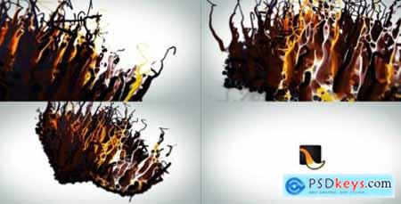 Videohive Liquid Wax Logo Intro 17309663
