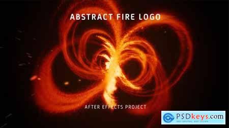 VideoHive Abstract Fire Logo 25024385