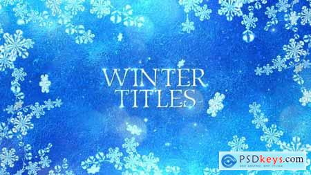 VideoHive Winter Titles 25008630