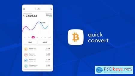 VideoHive Cryptocurrency App Promo 23624020