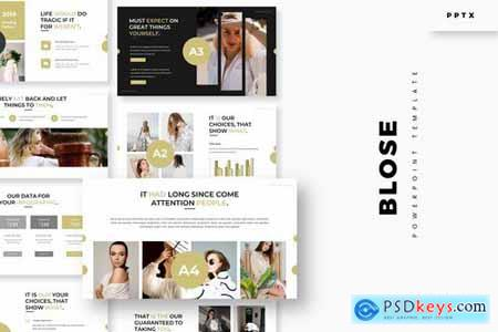 Blose - Powerpoint Google Slides and Keynote Templates