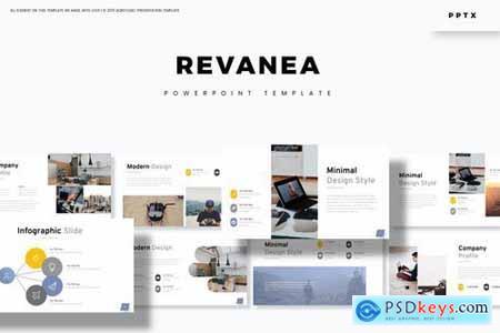 Revanea - Powerpoint Google Slides and Keynote Templates