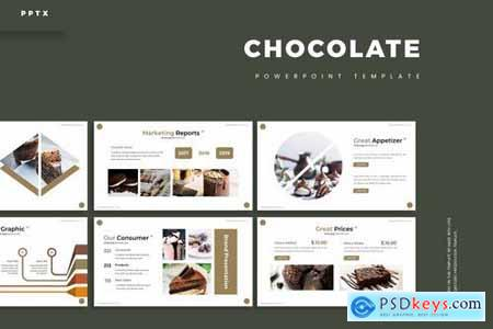 Chocolate - Powerpoint Google Slides and Keynote Templates