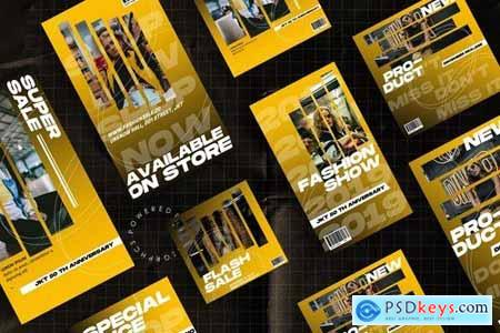 Social Media PowerPoint Template 2