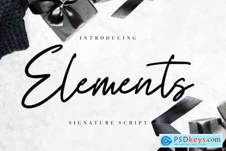 Elements Signature Script
