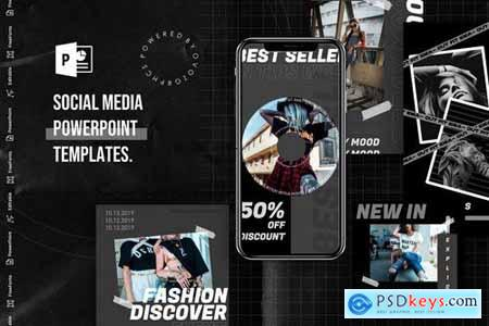 Social Media PowerPoint Template 4