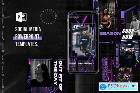 Social Media PowerPoint Template 5