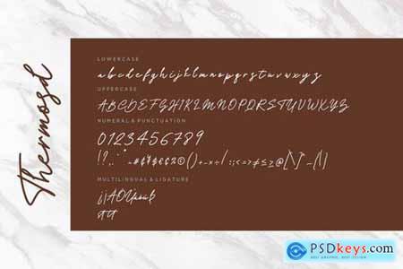 Thermosd Handwritten Signature