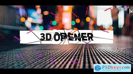 Videohive Stomp 3D Opener 22505502