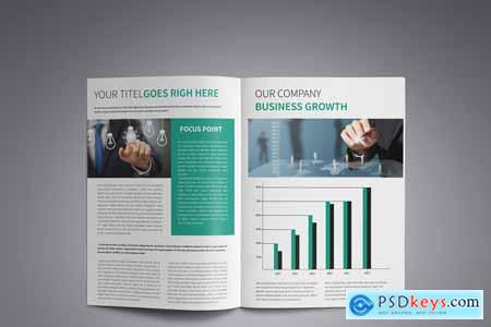 A4 Corporate Business Brochure 4159023
