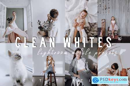 Bright CLEAN WHITES Mobile Presets 4269292