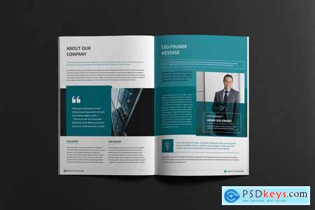Business Company Portfolio Brochure 4159084