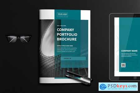 Business Company Portfolio Brochure 4159084