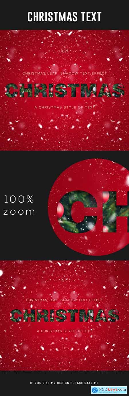 Christmas Text Effect 24923621