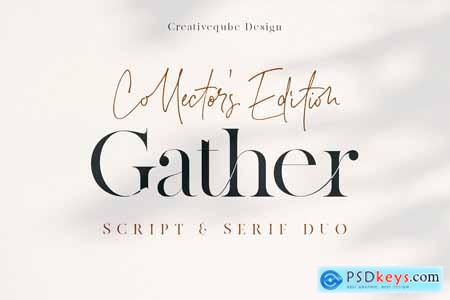 Gather Collector's Edition Font Duo 4125884