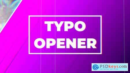 Videohive Typo Opener 23039487