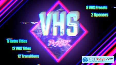 Videohive VHS Pack Final Cut 22944448