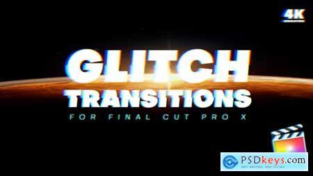 Videohive Glitch Transitions 23980929