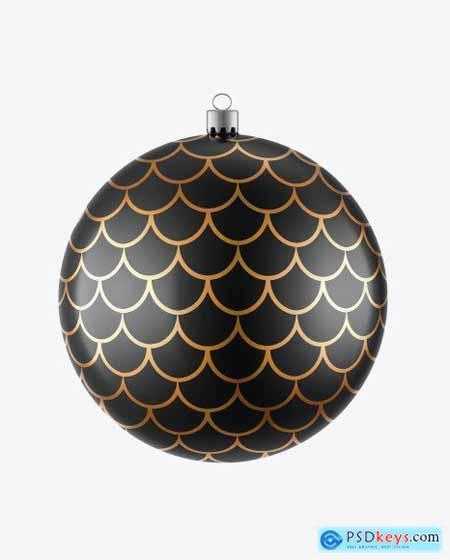 Glossy Christmas Ball Mockup 51604