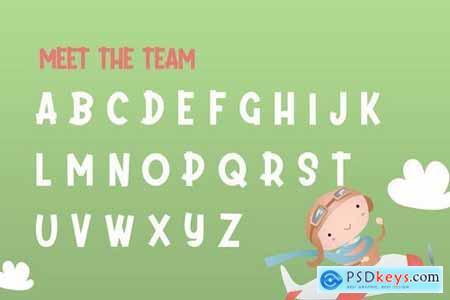 Daydream Kids Font 4283336