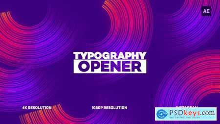 Videohive Typography Opener 22749738