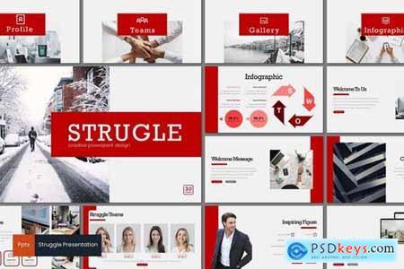 Struggle - Powerpoint Google Slides and Keynote Templates