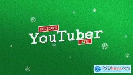 Videohive YouTuber Kit Holidays Edition 18871783