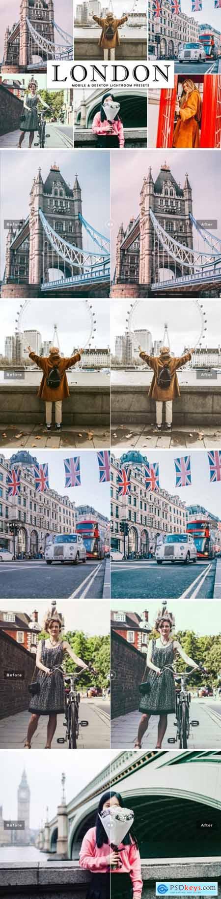London Lightroom Presets Pack 2000468