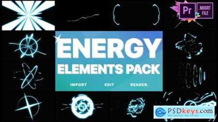 Videohive Cartoon Energy Elements Pack Premiere Pro MOGRT 25029389