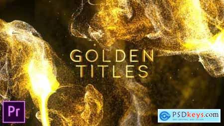 Videohive Golden Titles Premiere pro 25045335