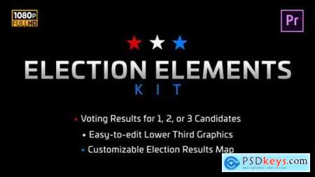 Videohive Election Elements Kit MOGRT for Premiere Pro 25028595