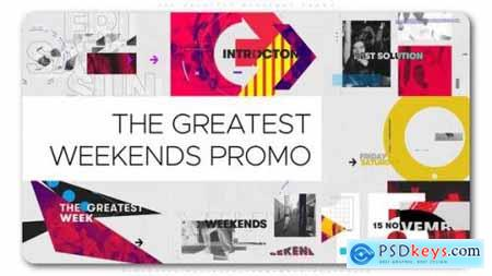 Videohive The Greatest Weekends Promo 24994934