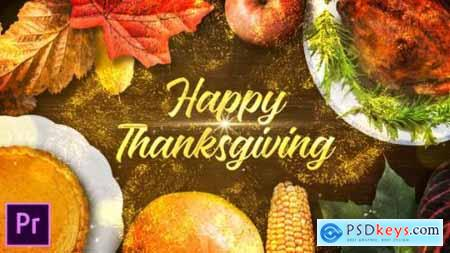 Videohive Thanksgiving Wishes Premiere Pro 25046014