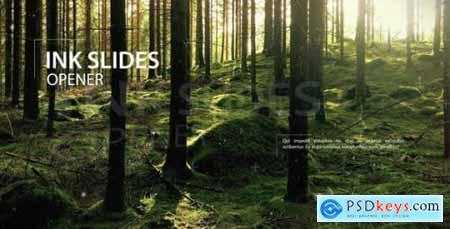 Videohive Ink Slides Opener 14985003